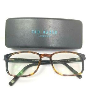 Ted Baker Eyeglasses Frames Tortoise Shell Brown